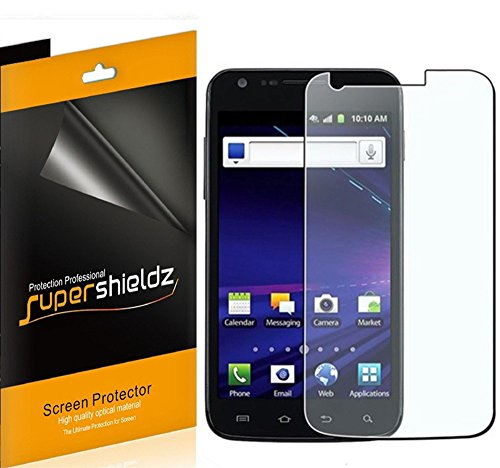 ([6-Pack] Supershieldz- High Definition Clear Screen Protector for Samsung Galaxy S2 (Skyrocket i727 AT&T only) + Lifetime Replacement)