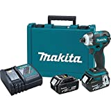 Makita XDT09M 18V LXT Lithium-Ion 4.0Ah Brushless Cordless Quick-Shift Mode 3-Speed Impact Driver Kit (Discontinued by Manufacturer)