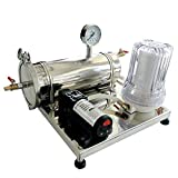 New Stainless Mini Automatic White Spirit Moonshine Still Beer Wine Filter Strainer System Kits Brewing Equipment w/raw tape wine inlet filter element