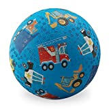 Crocodile Creek Vehicles Playground Ball, Blue, 5''