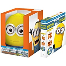 Despicable Me / Despicable Me 2: 3-Movie Collection with Minion Lamp
