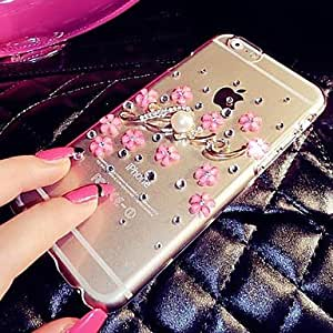 ZL The Small Broken Flower with Diamond Frame for iPhone 5 /5S (Assorted Colors) , White