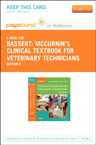 McCurnin's Clinical Textbook for Veterinary Technicians - Elsevier eBook on VitalSource (Retail Access Card)