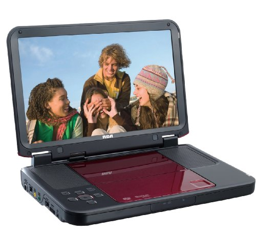 RCA DRC6331R Portable DVD Player with 10-Inch LCD by RCA