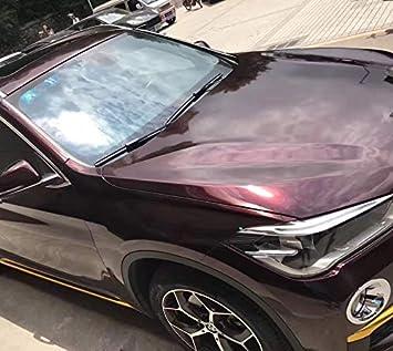 speedwerk-motorwear 3d Dark Rose Red perlado Effect con canales de aire, Car Wrapping, protector de pantalla, color lila: Amazon.es: Coche y moto