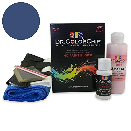 Dr. ColorChip BMW M3 Automobile Paint - Mystic Blue Metallic A07 - Squirt-n-Squeegee Kit