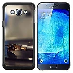 Stuss Case / Funda Carcasa protectora - Vinilo jugador Aguja - Samsung Galaxy A8 A8000