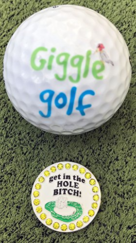 Giggle Golf Bling Putting Ball Marker Pack by Giggle Golf (Image #3)