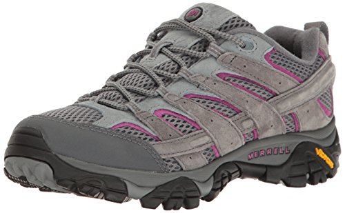 Merrell Women's Moab 2 Vent Hiking Shoe, Castle Rock, 9.5 M US - Nylon Dog Balls