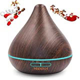 HIPPIH 300ml Cool Mist Humidifier, Essential Oil Diffuser...