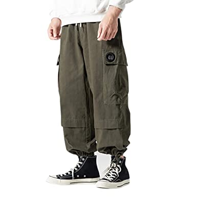 FELZ Pantalones De Trabajo Hombre Pantalones Hombre Chandal Moda ...