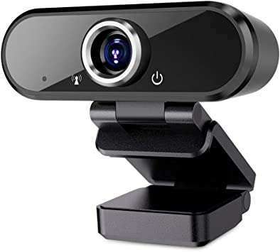 Full 1080P HD PC Webcam Portable Compatible with Most of Device /& App Plug and Play Webcam for Online Class Online Conferencing Streaming Laptop Desktop USB 2.0 Web Camera Webcam with Microphone