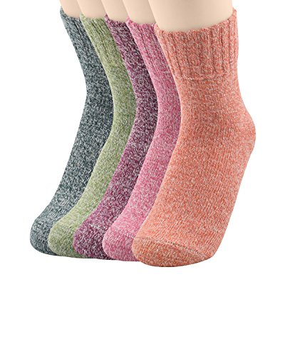 Colored Costume Contacts Cheap (Century Star Cashmere Wool Full Cushion Womens Crew Dress Socks 5 Pack)