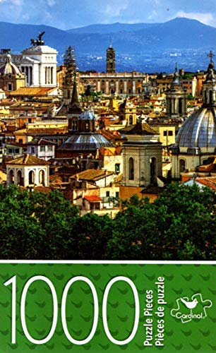 Cardinal Industries Skyline, Rome, Italy - 1000 Piece Jigsaw Puzzle - p007