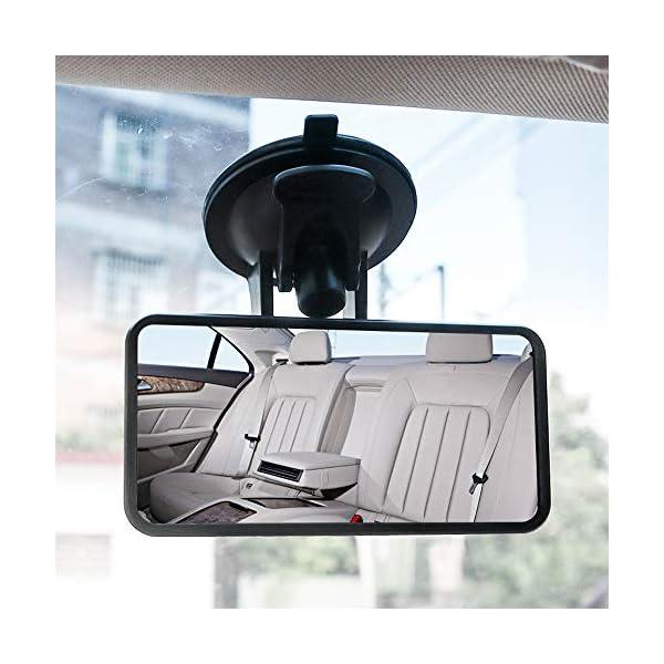 SunTop Specchio Auto Bambino Baby Bambino Vista Posteriore Specchio, specchietto retrovisore Bambino,Specchio per Auto… 4