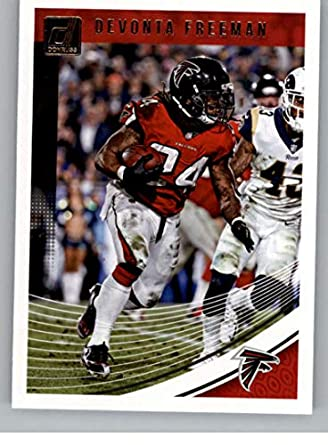 new products 5ac79 72d7b Amazon.com: 2018 Donruss Football #13 Devonta Freeman ...