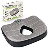 Donut Luxury Seat Cushion Memory Foam Pillow for Hemorrhoids, Prostate, Pregnancy, Pressure Sores