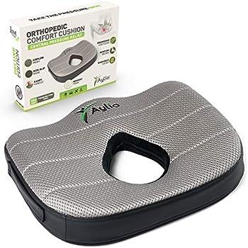 Amazon.com: Donut Tailbone Pillow Hemorrhoid Cushion - Donut ...