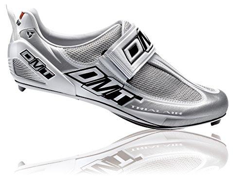 一瞬どこ長いですDMT 自転車用ビンディングシューズ トライエアー 166443 ホワイト 43.5