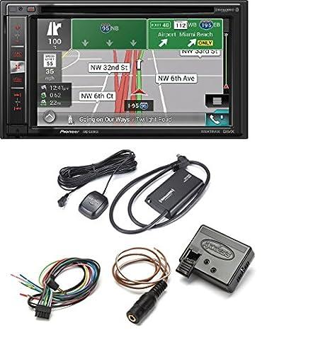 Pioneer AVIC-5200NEX DVD CD Navigation Receiver w/ 6.2