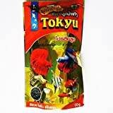 50g (1.76 oz) Tokyu Baby Floating Type Pellet Dried Mosquito Larva Betta Fighting Fish Food