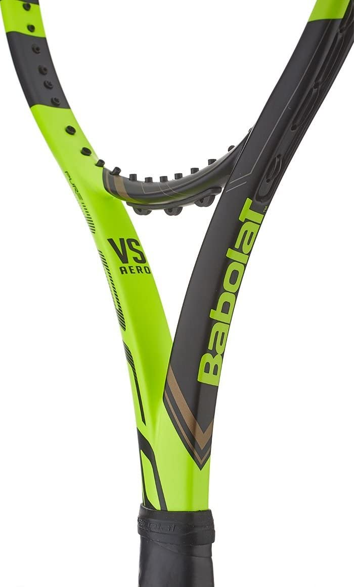 Amazon.com : Babolat Pure Aero VS Yellow/Black Tennis ...