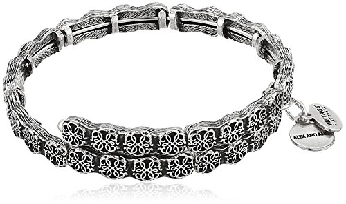 Alex and Ani Path of Life Rafaelian Silver Wrap Bracelet by Alex and Ani