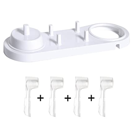 nincha soporte de cabezal de cepillo de dientes eléctrico con cepillo de dientes eléctrico soporte +