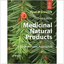 Medicinal Natural Products A Biosynthetic Approach By Dewick