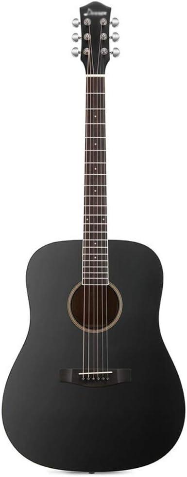 Loivrn Serie Vintage Guitarra acústica 41 pulgadas Negro ...