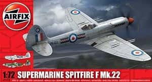 Airfix - Spitfire Mk22, juguete de aeromodelismo (Hornby A02033)