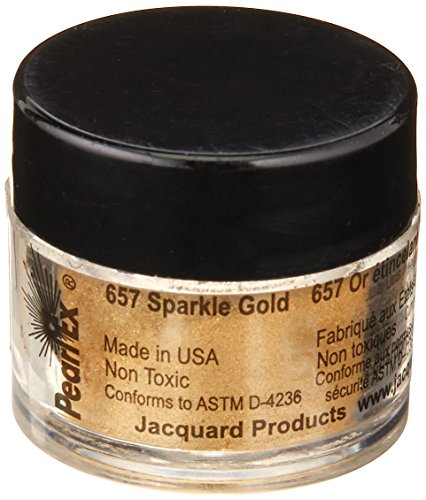 Pearl Paint Gold (Jacquard Pearl EX Powdered Pigments 3 Grams-Metallics - Sparkle Gold)