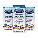 Pedialyte Electrolyte Powder, Electrolyte Drink, Variety Pack, Powder Sticks, 0.3 oz (24 Count)