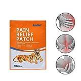 #10: Leoie 8 Pcs/Bag Medical Pain Relief Patch Shoulder Spine Cervical Tiger Paste Plaster Stickers Relief Rheumatism Aches Pains Health Body Care