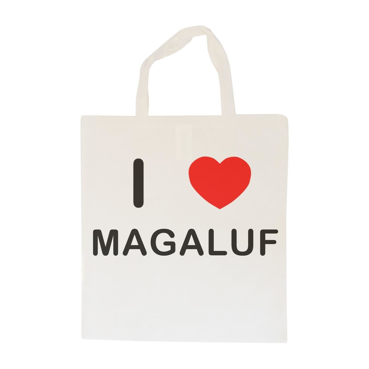 Cotton Tote Bag I Love Magaluf
