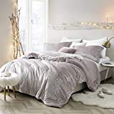 Oversized Comforters Byourbed Coma Inducer Oversized King Comforter - Velvet Crush - Champagne Pink
