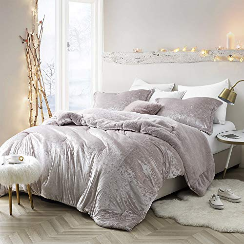 (Byourbed Coma Inducer Oversized Twin XL Comforter - Velvet Crush - Champagne)