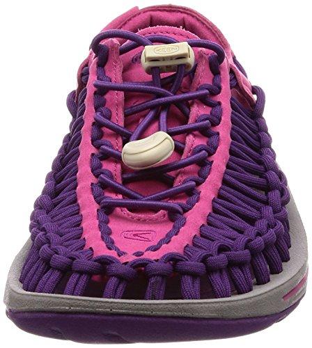 Rose Bright Very Berry Purple Women's Magic Uneek W Anemone Keen Sandals 480Ww