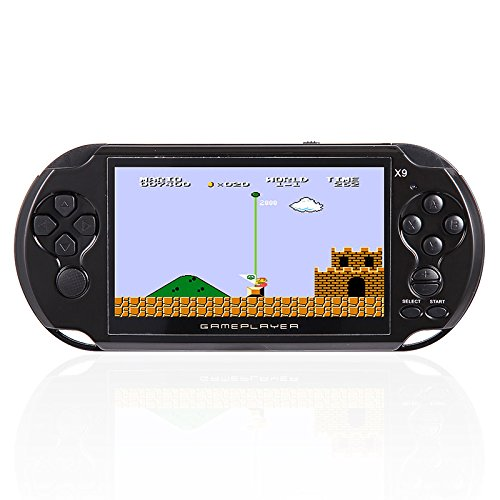 RONSHIN Handheld Portable Retro Game Console Video MP3 Player Camera Kids by RONSHIN (Image #2)