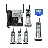 AT&T SB67118 / SB67138 4-Line Corded-Cordless Phone System w/ 5 SB67108 Handsets Bundle