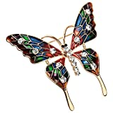 Szxc Jewelry Butterfly Collection Custom Accessories Brooches Pin Jewelry Gift For Women Teen Girl