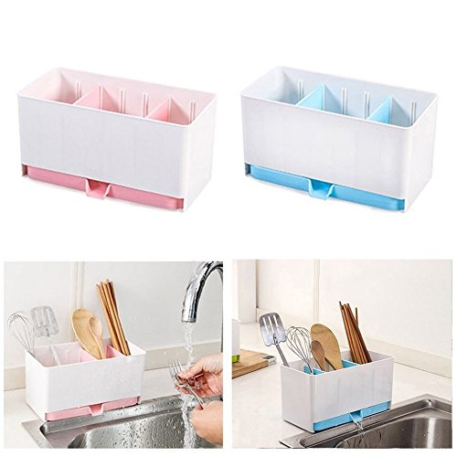 Agordo Kitchen Washing Holder Brush Sponge Sink Draining Towel Rack Kitchen Storage NEW by Agordo