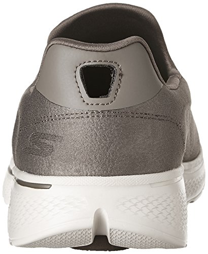 Skechers Mens Go Walk 4 Remarkable LeatherTex Casual Sports Shoes Khaki