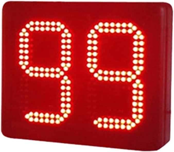 タイマー LEDウォールクロック多機能大型リモートコントロールデジタルLEDクロックカウントダウンタイマー 多機能 (色 : ブラック, サイズ : 8-inch) ブラック 8-inch