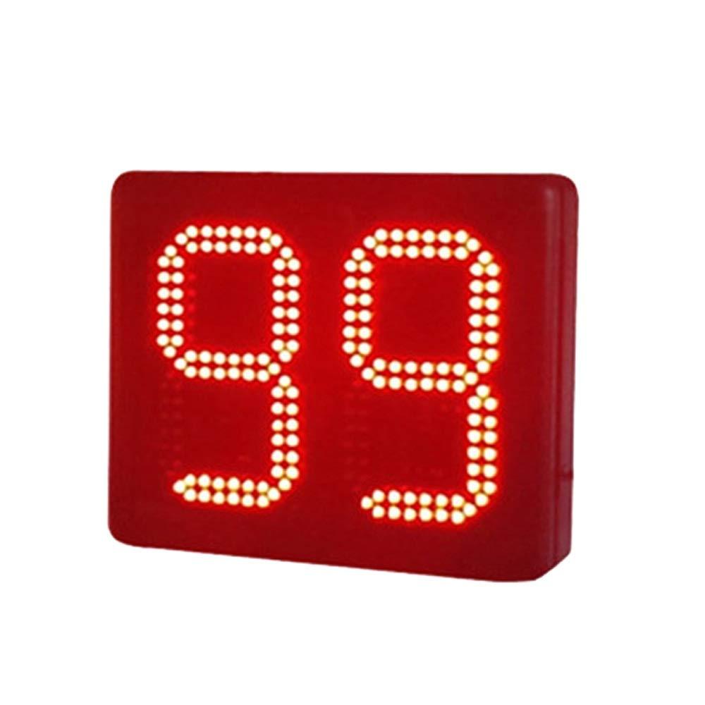 デジタイマチャレンジ LEDウォールクロック多機能大型リモートコントロールデジタルLEDクロックカウントダウンタイマー (色 : ブラック, サイズ : 8-inch) ブラック 8-inch