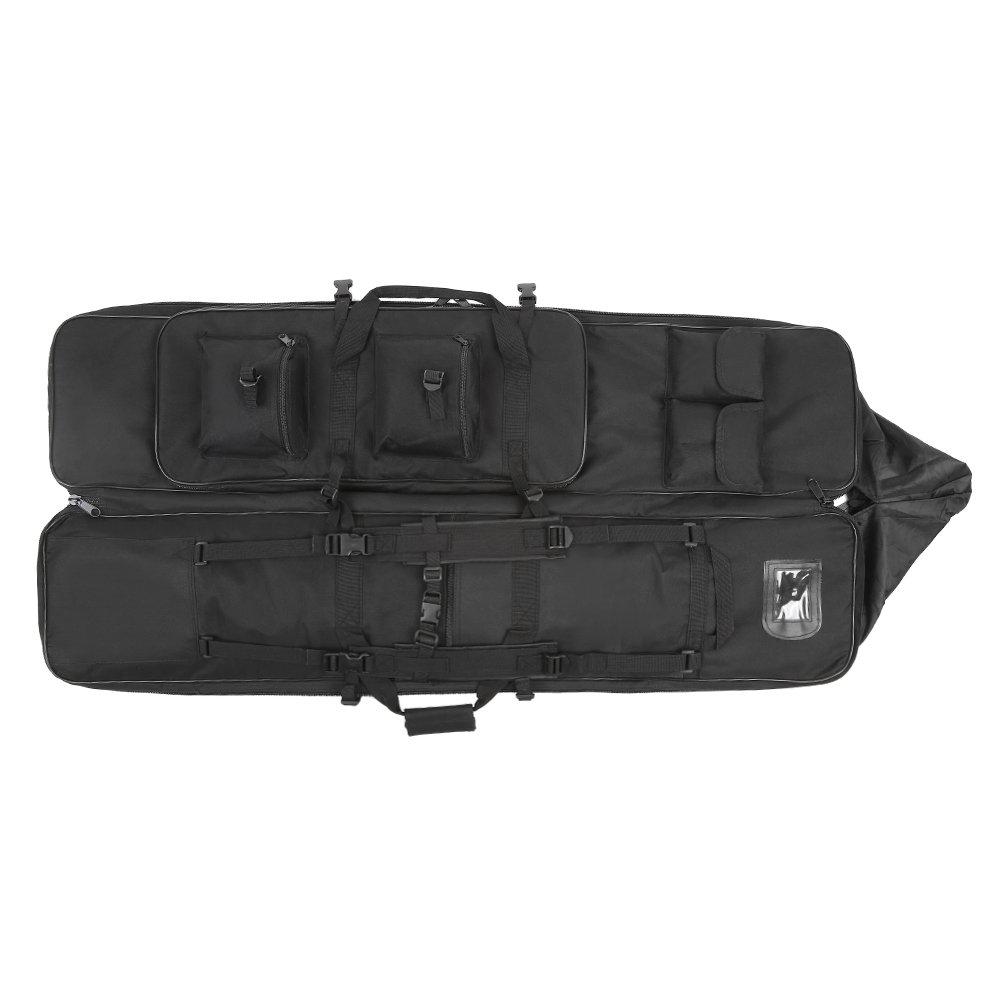 Festnight 95cm / 120cm Outdoor Hunting Gun Carry Bag Gear Protection Case with Adjustable Shoulder Strap, Black by Festnight (Image #5)