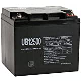 UB12500 12V 50Ah Internal Thread Replacement for BB Battery EB50-12