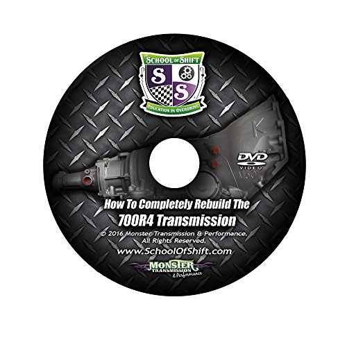 Complete 700R4 Transmission Rebuild DVD - How to Completely Rebuild the 700R4 Step by Step From Start to (700r4 Rebuild Kits)