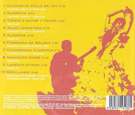 Flamenco : Carmen Amaya, Sabicas: Amazon.es: Música