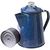 GSI Outdoors 12 Cup Enameled Steel Percolator Coffee Pot
